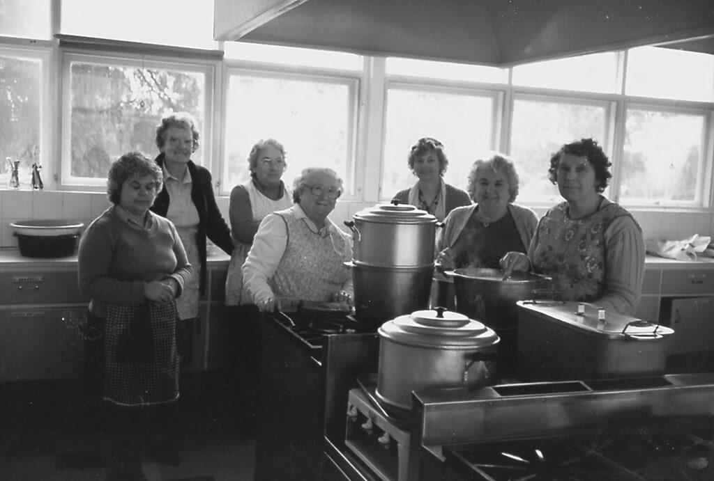 Meals on Wheels Vintage Photo